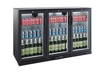 Minibar Kühlschrank Abschließbar : Profi getränkekühlschrank liter ° c ° c umluftkühlung