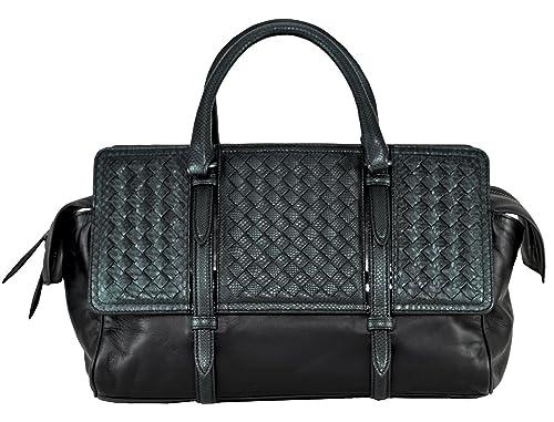 Bottega Veneta medium monaco bag in nero intrecciato nappa 396449   Amazon.ca  Shoes   Handbags a0d9438a60