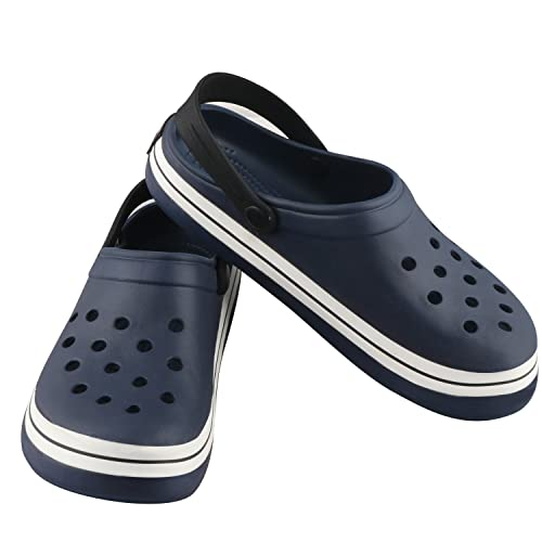 56d71dcb0822 Birde Crocs Navy Blue EVA Clogs for Mens and Boys  Buy Online at Low Prices  in India - Amazon.in