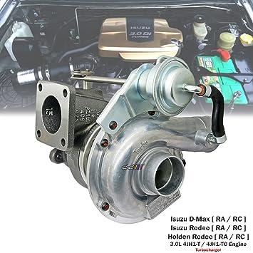 Cargador Turbo RHF5 8973659480 para Isuzu D-Max Holden Rodeo RA RC 3.0L 4JH1-TC: Amazon.es: Coche y moto
