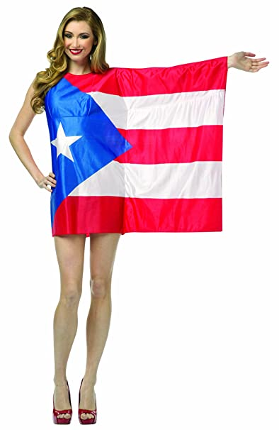 937e0d71e9d Amazon.com  Rasta Imposta Flag Dress Puerto Rico