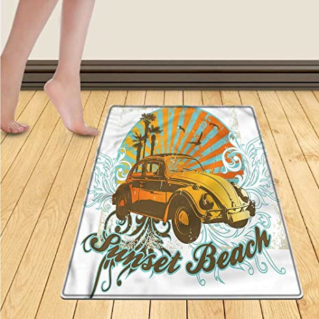 Amazon Chaneyhouse Cars Floor Mat For Kids Summer Inspired