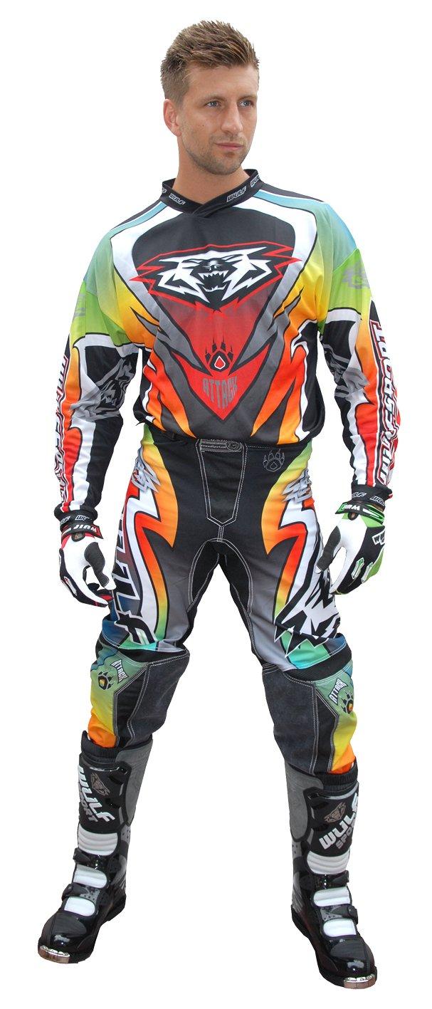 Wulfsport Attack - Traje de motocicleta para adulto ...