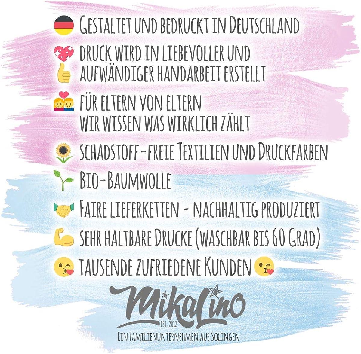 Mikalino Baby//Kinder T-Shirt mit Spruch f/ür Jungen M/ädchen Unisex Kurzarm Mein Opa ist einfach der Beste handbedruckt in Deutschland Handmade with Love