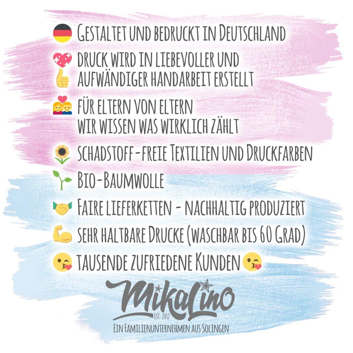 handbedruckt in Deutschland Handmade with Love Mikalino Babybody mit Spruch f/ür Jungen M/ädchen Unisex Kurzarm Ich kann es kaum erwarten Dich zu sehen Papi