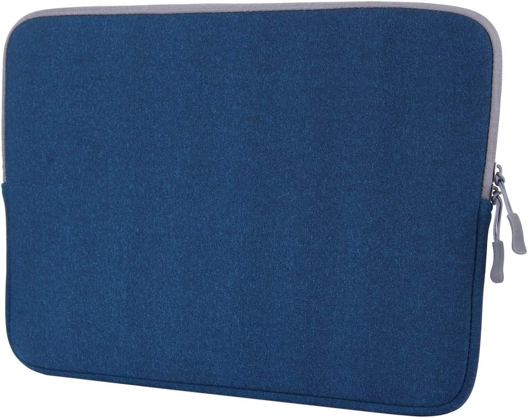 CHAJIJIAO Ultra Slim Case for MacBook Air 11.6 inch & MacBook 12 inch Universal Laptop Bag Soft Portable Package Pouch Tablet Back Cover (Color : Blue)