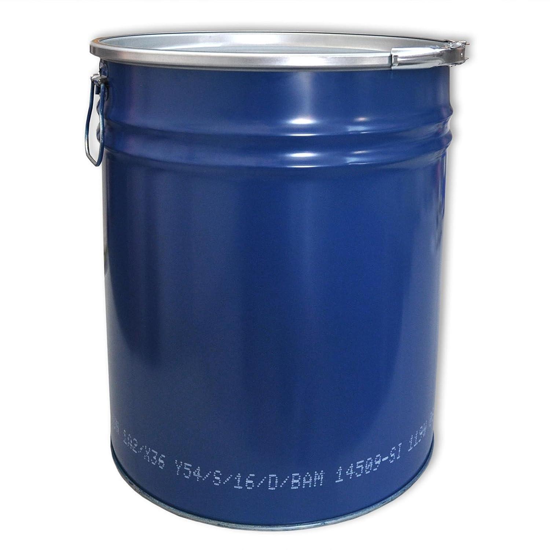 Barril, barrica, barril metá lico azul con tapa 30 L (23020) barril metálico azul con tapa 30L (23020) Wilai GmbH