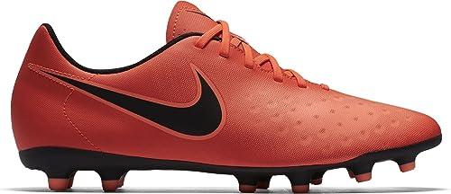 Nike Magista Ola II FG, Botas de fútbol para Hombre, Rojo (Total Crimson