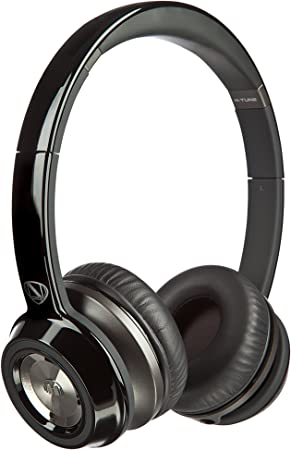 Monster NCredible NTune On Ear Headphones  Midnight Black  On Ear