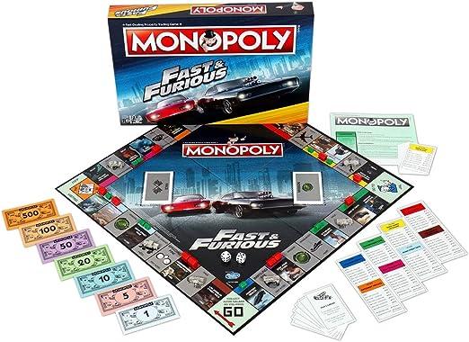 Fast & Furious Monopoly Board Game [Importación inglesa]: Amazon.es: Hogar