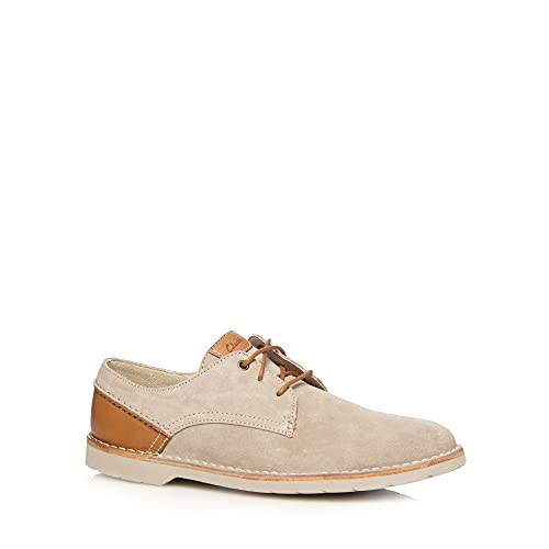 Clarks mango color gris para hombre Hinton para pesca con mosca zapatos de funda