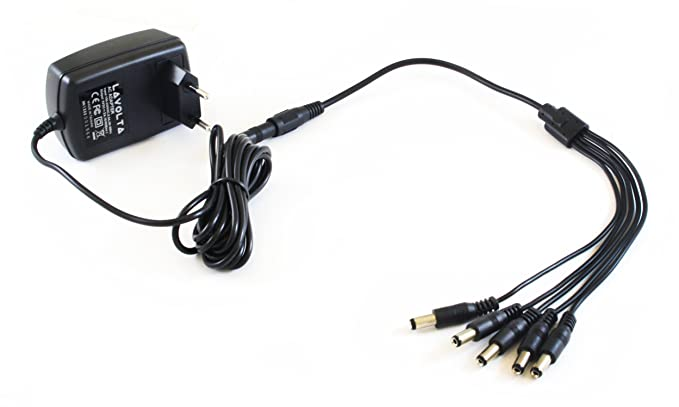 1 bis 3 Wege E Gitarre Effektpedale Adapter 9V 1A Netzteilkabel
