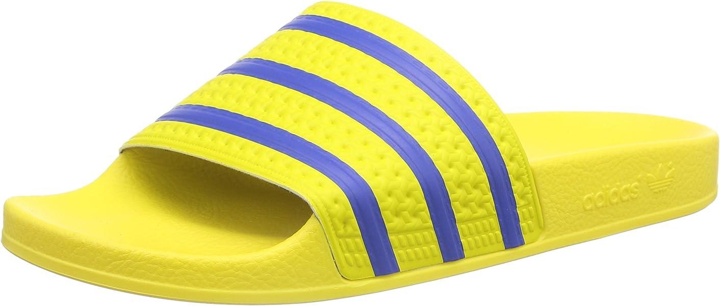 3aacc1b5da9203 adidas - Adilette Slides - Yellow - 14  Amazon.co.uk  Shoes   Bags