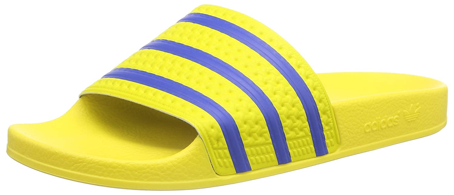 7d7d3a5c4858 adidas Originals Men s Adilette Yellow