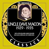 Uncle Dave Macon - Chronological Classics 1929-1935