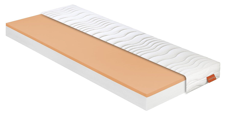 Sleepling 190129 Matratze Basic 50 - Härtegrad 2 2 2 120 x 200 cm, Weiß a33343