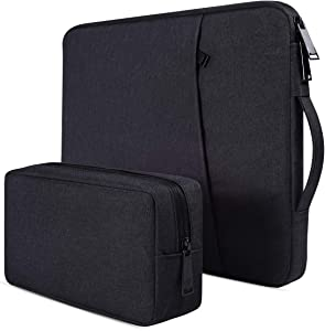"14-15 Inch Waterproof Laptop Sleeve Case for Acer Chromebook 14, Lenovo Chromebook S330 14""/Lenovo Flex 14, HP Chromebook 14/Stream 14, HP Pavilion x360 14"", ASUS, DELL, 14 inch Notebook Carrying Bag"