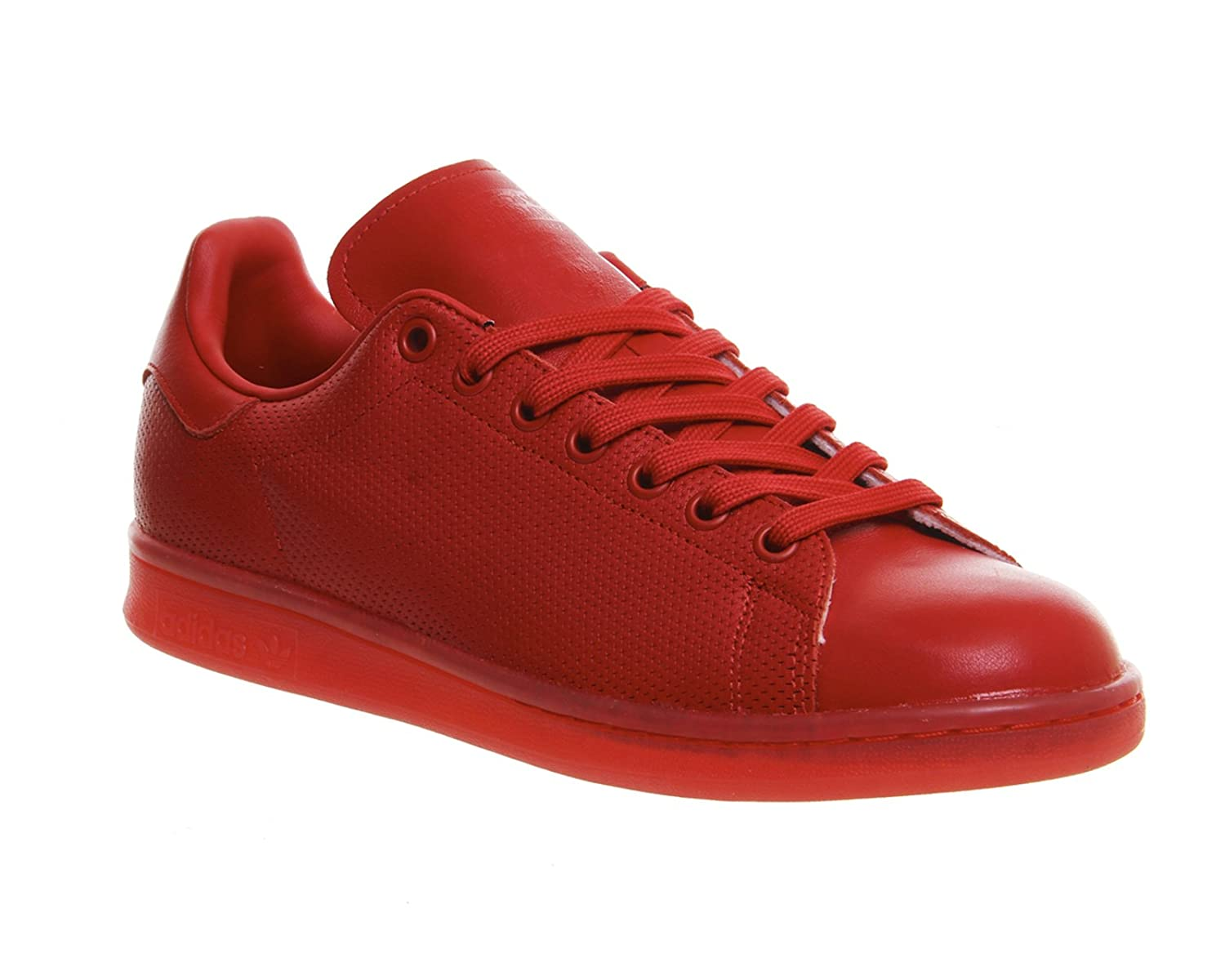 Adidas Turnschuhe Stan Smith AdiFarbe S80248 Rot Schuhgröße 39 1 3