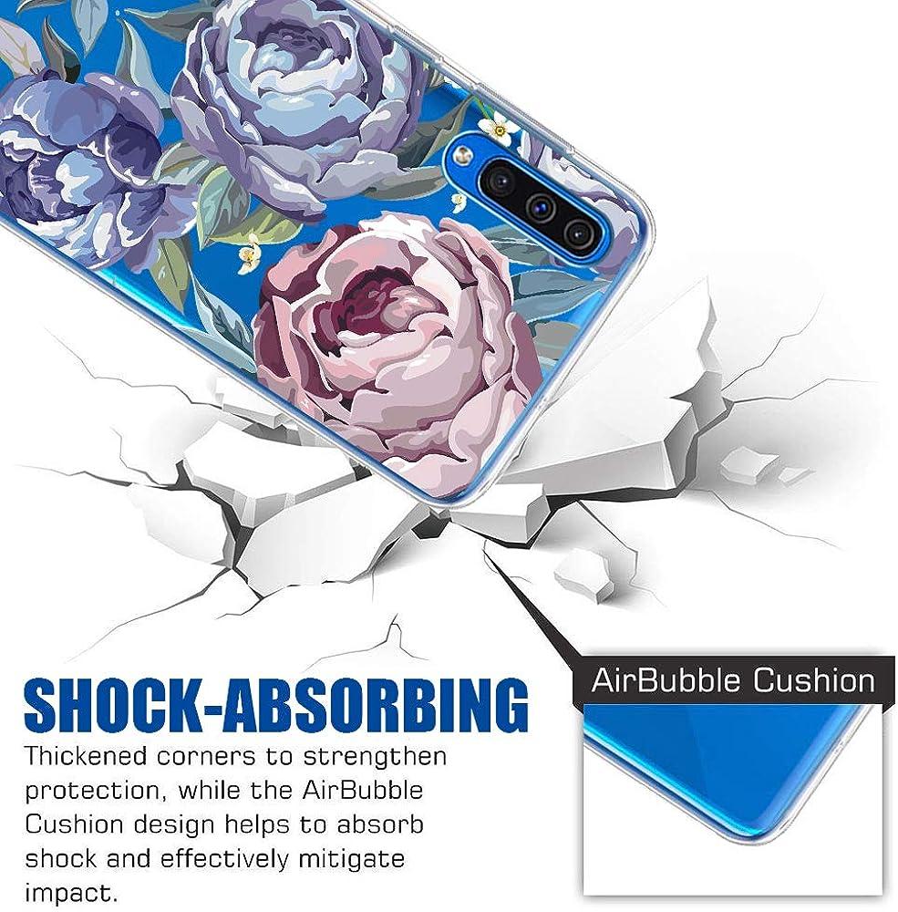 Kratzfest und Wasserdicht SchutzH/ülle f/ür Galaxy A50 Kompatibel mit Samsung Galaxy A50 H/ülle,Galaxy A50 Handyh/ülle Schutzh/ülle,Transparent Silikon Painted Muster Weich Silikon Ultra D/ünn