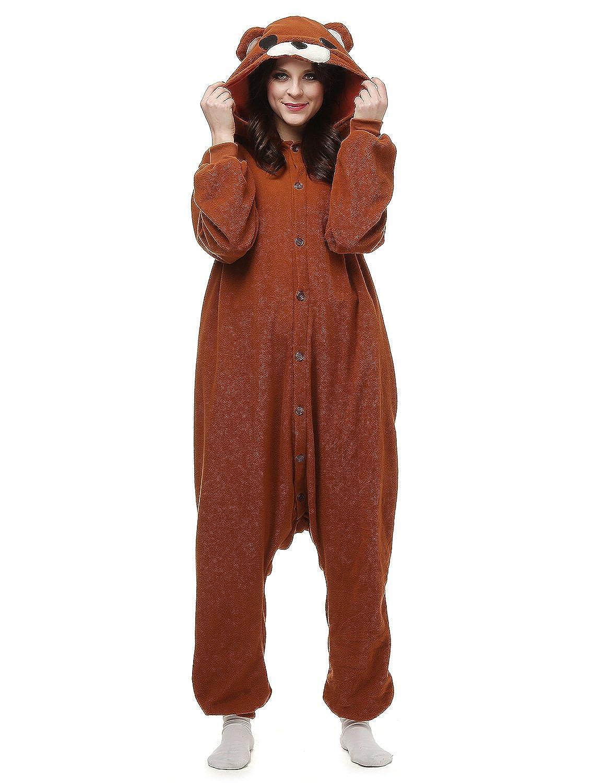 Belle House Bear Pajamas Animal Costume Onesie Adults Sleeping Wear Kigurumi Cosplay BEARHYAC0729