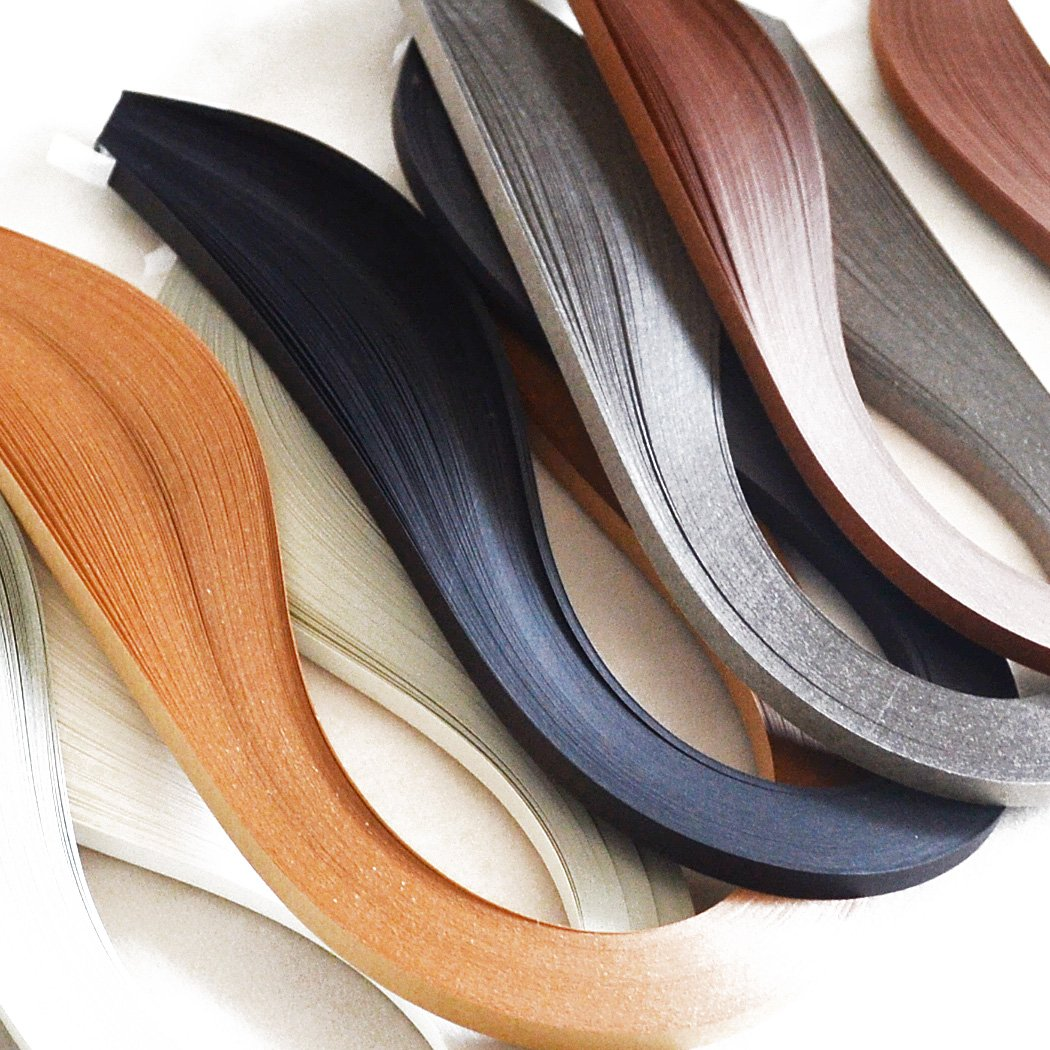 Juya Paper Quilling Set 600 Strips 6 Colors 39cm Length//strips 3//5//7//10mm Width Available Paper Width 7mm