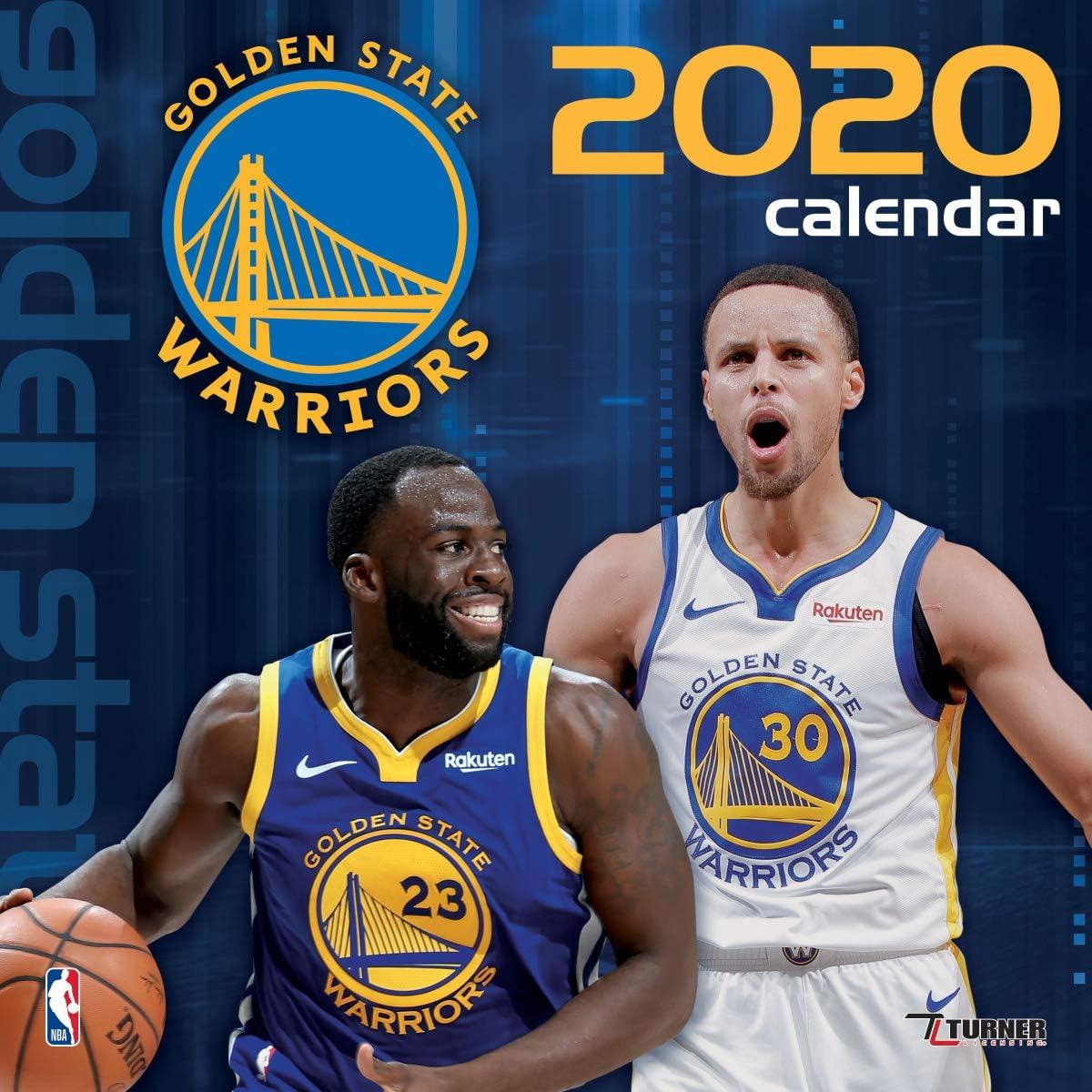 Golden State Warriors 2020 Calendar