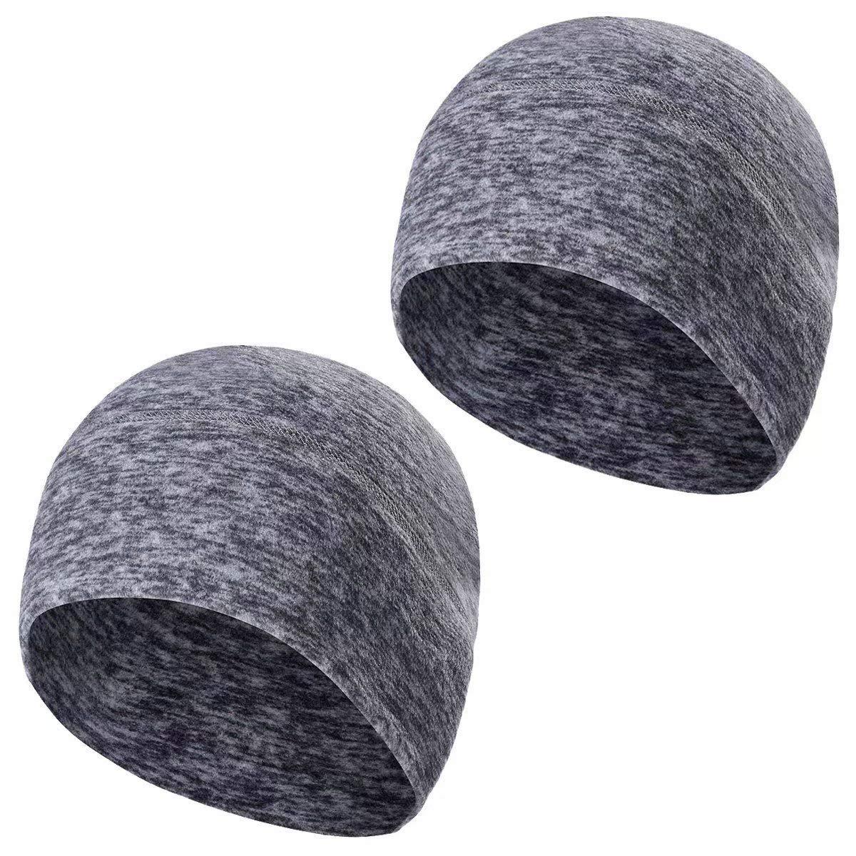 Fodera Casco per Adulti Donne e Uomini Dimensione Elastica Universale TAGVO Felpa Invernale Beanie Cappellino Running Beanie Hat con coperchi Auricolari
