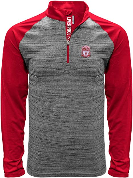 Liverpool - Polo de Manga Larga, Color Rojo, Medium: Amazon.es ...