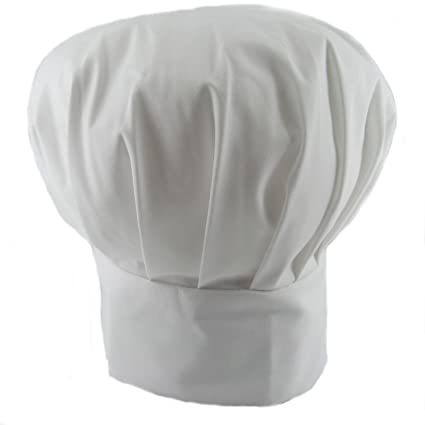 Adjustable Polycotton Chefs Cooks Bakers Hat Catering Supplies (White)   Amazon.co.uk  Kitchen   Home 21dbc9929d3