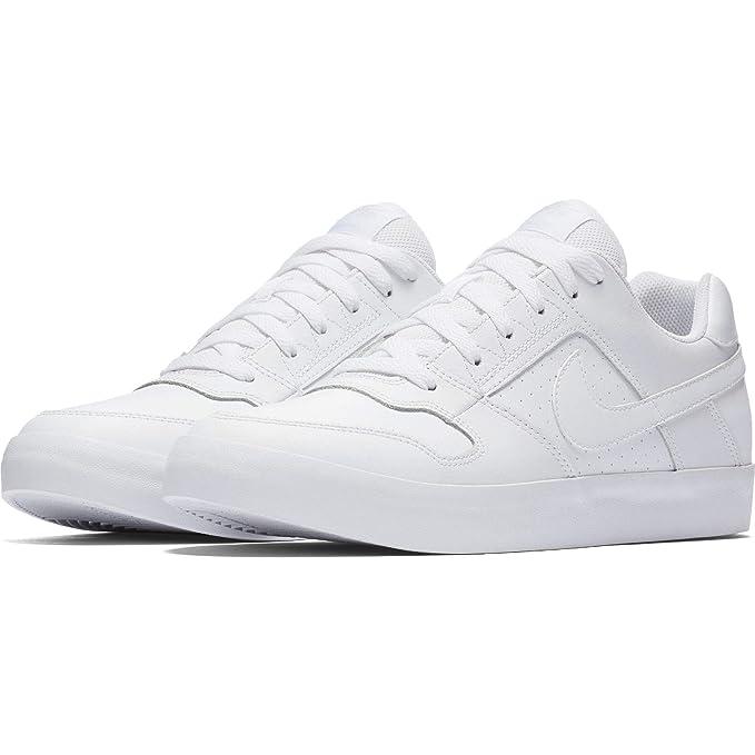 905d2293d8e4a5 Nike Mens Nike SB Delta Force Vulc Skate Shoe Black Black Italy Blue Size 12