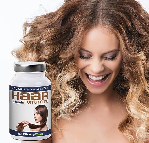 Vitaminas para el cabello + Biotina   CAMPEÓN DE LA PRUEBA 2017 en vergleich.org   Vitaminas concentradas para el cabello + Biotina, Zinc, Ácido pantoténico ...