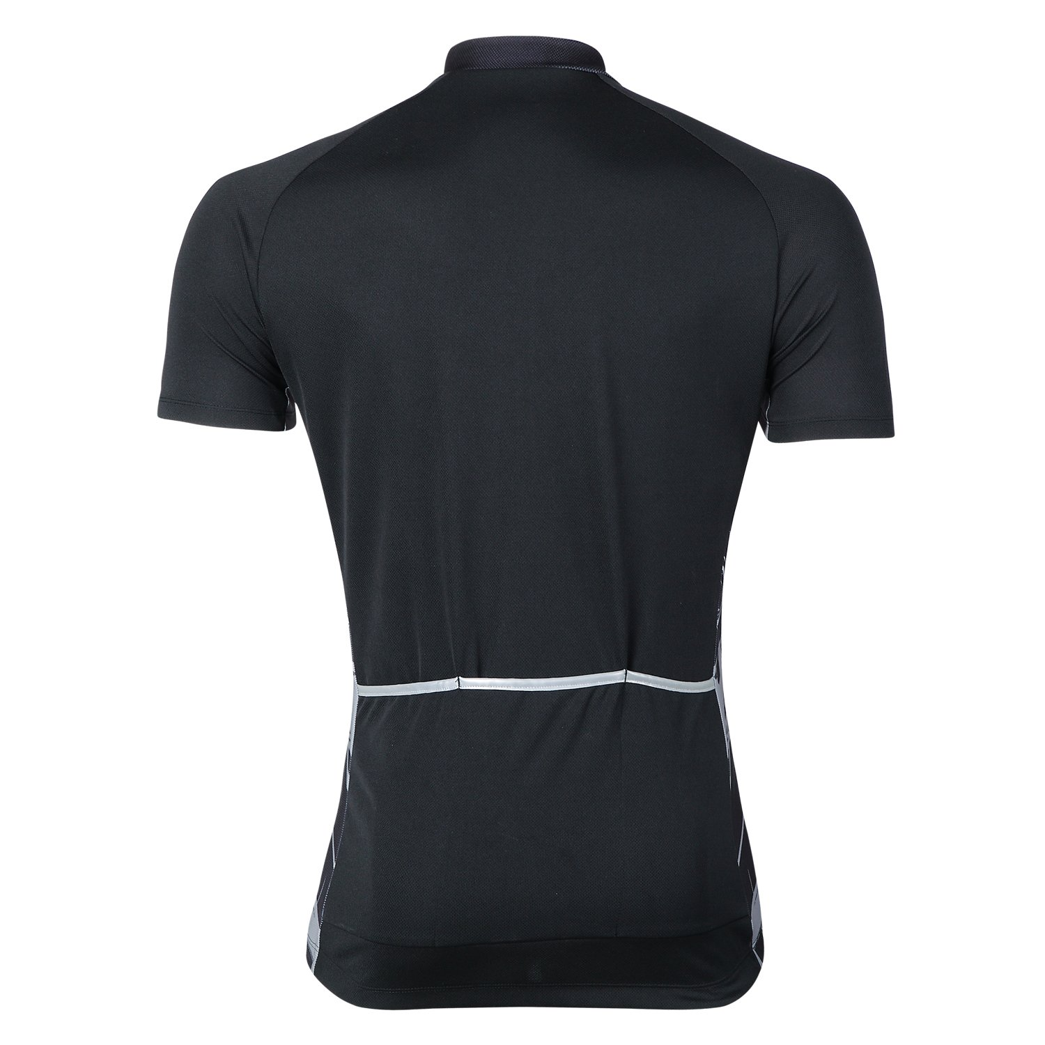 Men/'s Black Bike Cycling Jerseys Short Sleeve Bicycle Tops Outfits Shirt Pockets