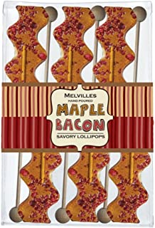 product image for Melville Candy Maple Bacon Lollipops 6 Pack Gift Set