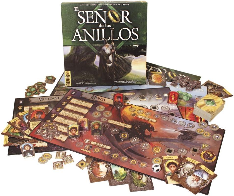 Devir - El señor de los Anillos, Juego de Mesa (BGANI): Amazon.es: Juguetes y juegos