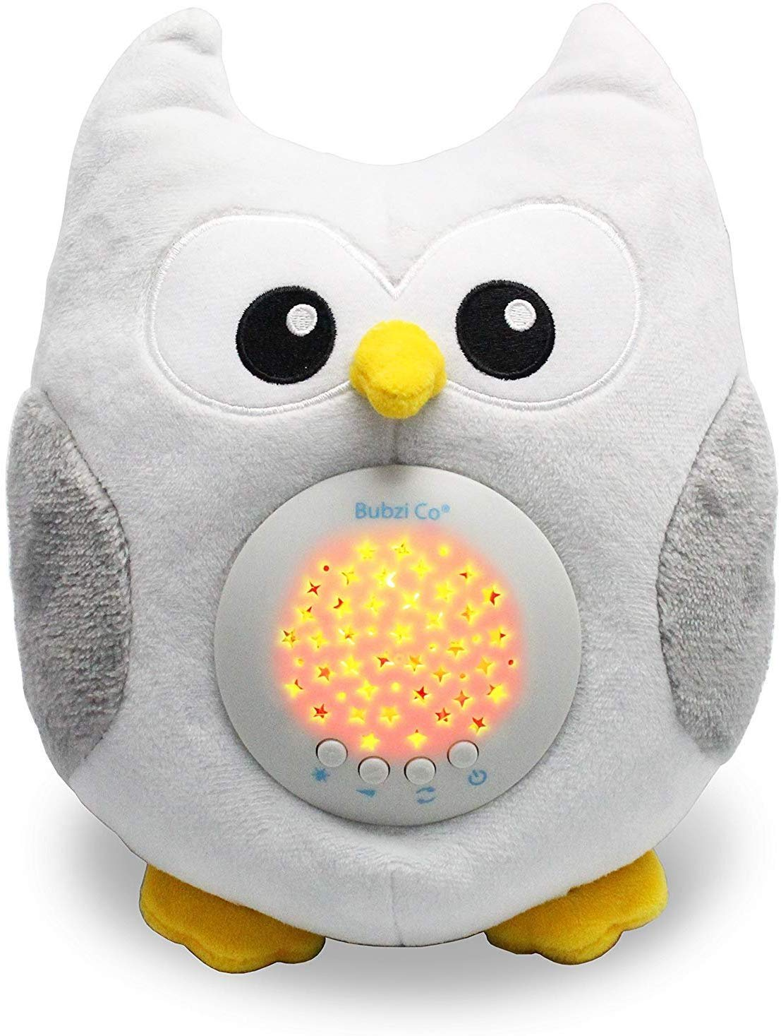Baby Soother Toys Owl White Noise Sound Machine, Toddler Sleep Aid Night Light, Unique Baby Girl Gifts & Baby Boy Gifts…