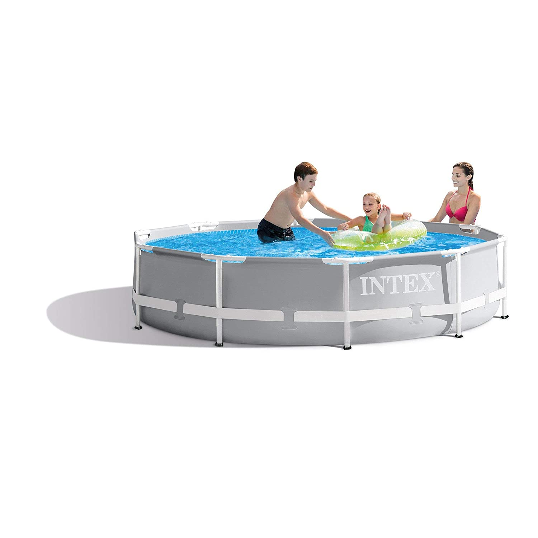 Intex Prism frame zwembad incl. filter/pomp (Ø:305cm - 76cm hoog): Amazon.es: Jardín
