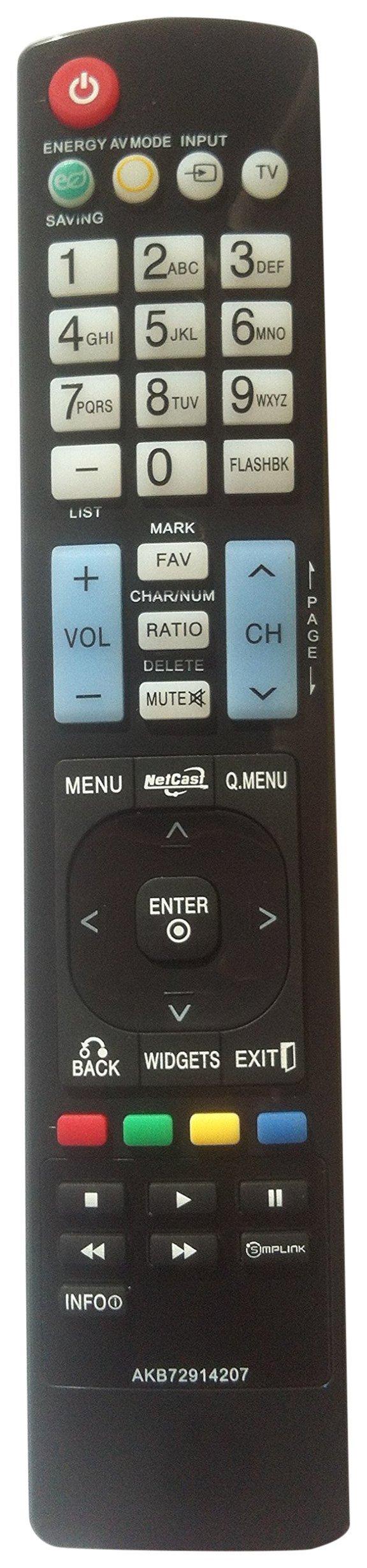 Control Remoto Nettech General LG AKB72914207 AKB72914003...