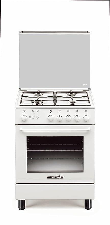 La Germania s14021 W Cocina 60 X 50 4 F/Gas Horno Gas/Grill el ...