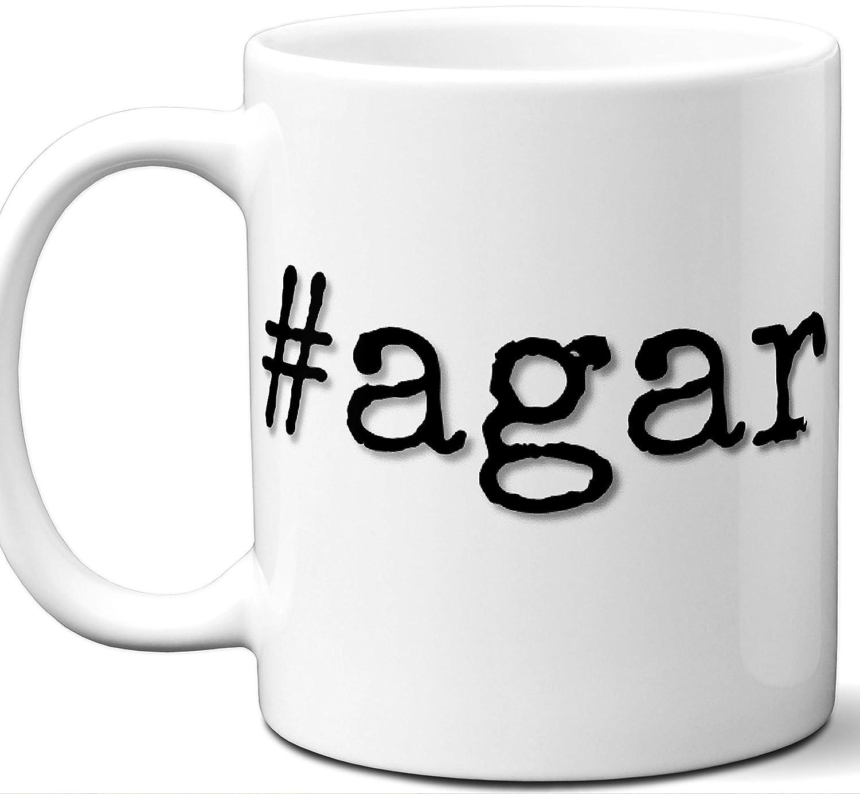 Amazon com: #agar Agar Last Name Gift  Cool Surname Mug  Unique