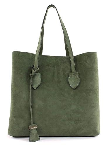 d5f97a3d4b0cb Coccinelle Celene Suede Shopper olivgrün  Amazon.de  Schuhe ...