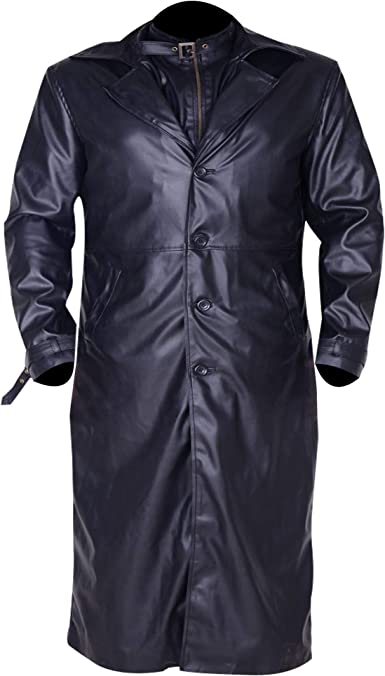 Amazon Com Fashion Vision Jacket Albert Wesker Resident Evil 5 Costume Trench Coat Clothing