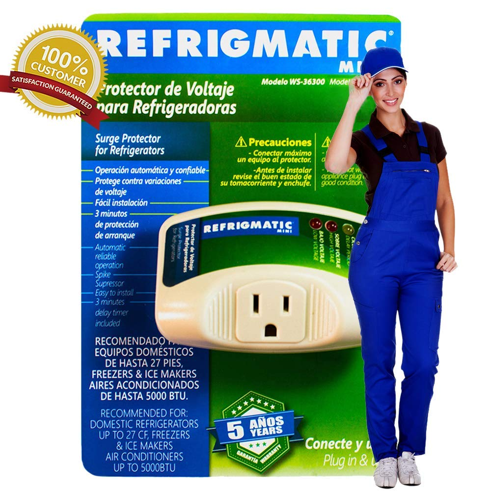 Amazon.com: Refrigmatic WS-36300 Electronic Surge Protector for Refrigerator Up to 27 cu. ft.: Appliances