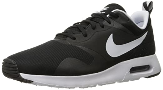 Nike Mens Air Max Tavas Low Top Running Casual Sport Lightweight Sneaker -  Black/White