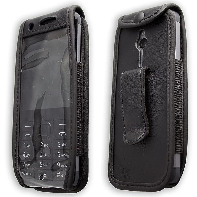 2 opinioni per caseroxx clip da cintura custodia per Nokia 230 cover in vera pelle, copertura