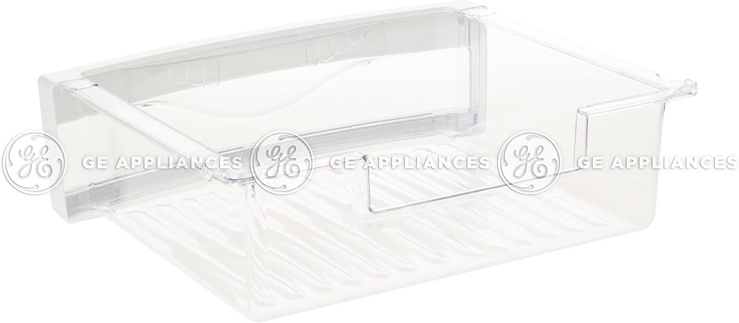 GE WR32X26198 Refrigerator Snack Drawer Genuine Original Equipment Manufacturer (OEM) Part