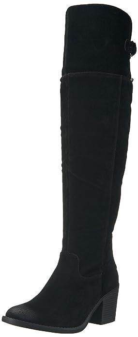 214c6eebe67 Qupid Women s Tobin-36 Western Boot Black 6 ...