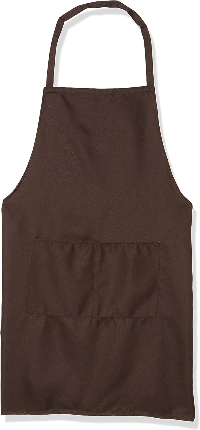Uncommon Threads Bib Aprons with Pockets for Work + Restaurant Uniform