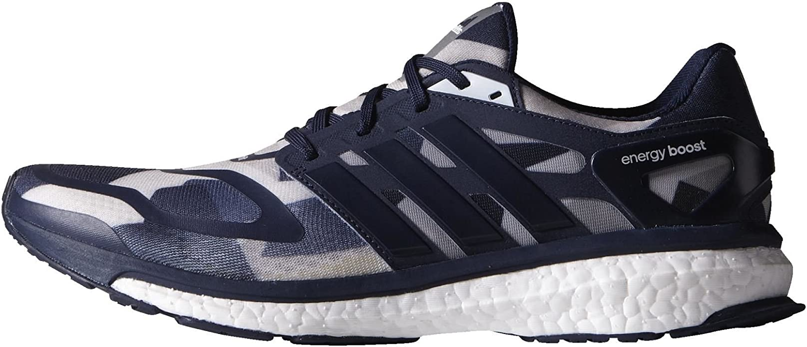 Adidas Energy Boost Ltd, navy white silver, Multicolor, 7,5: Amazon.es: Zapatos y complementos