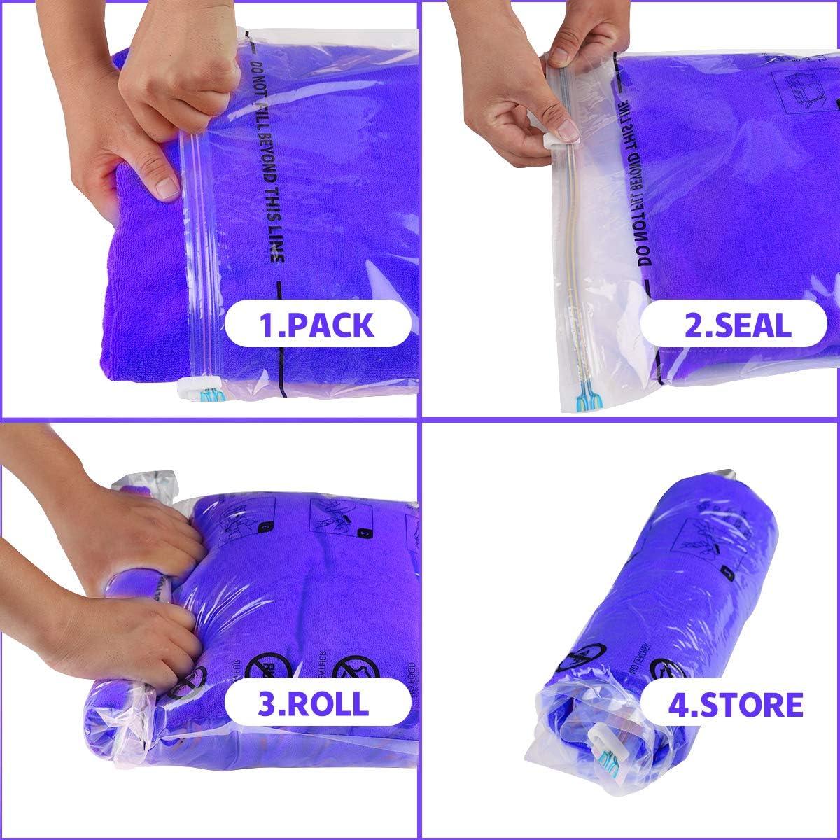 Mejores bolsas para guardar ropa al vacío Nº1