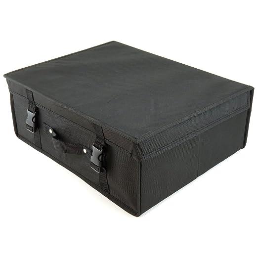 Hangerworld Caja de Ordenación 35x45x20cm Transpirable con Tapa ...